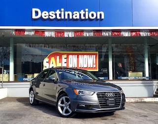 2016 Audi A3 *All Wheel Drive - Winter Ready ! Sedan