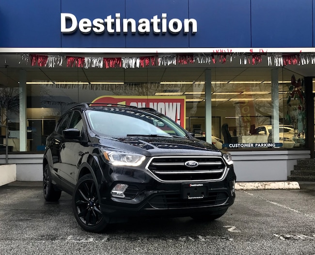 2017 Ford Escape SE WITH BACK UP CAM, GPS AND LEATHER SPORT SEATS! SUV
