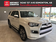 Certified 2016 Toyota 4Runner Limited | 4x4 | Backup Cam | Nav | Heat Seats SUV in Edmonton, AB