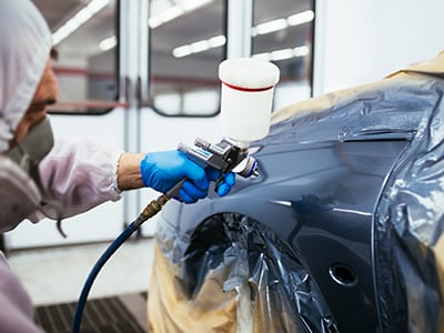 Professional Toyota paint repair
