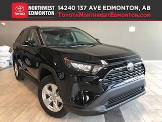 New 2019 Toyota RAV4 AWD LE SUV in Edmonton, AB