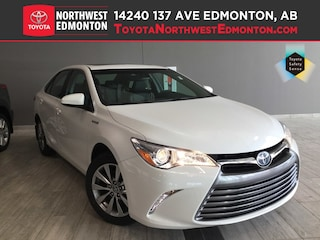 2017 Toyota Camry Hybrid XLE Sedan in Edmonton, AB