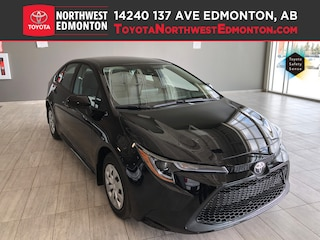 New 2020 Toyota Corolla L Sedan in Edmonton, AB