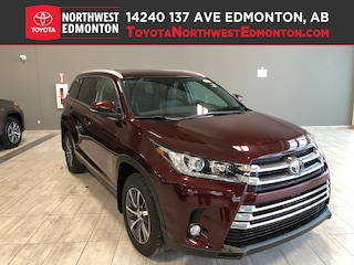 New 2019 Toyota Highlander XLE AWD SUV in Edmonton, AB