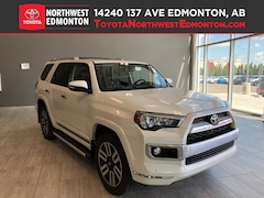 Certified 2016 Toyota 4Runner Limited | 4x4 | Backup Cam | Leather | Heat Seats  SUV in Edmonton, AB