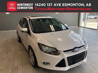2012 Ford Focus Titanium | Heat Seats | Keyless Entry | Heat Mirro Hatchback in Edmonton, AB