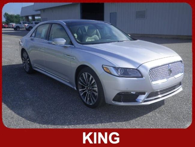 2019 Lincoln Continental Select Car