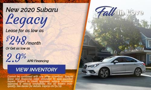 2020 Subaru Legacy - October