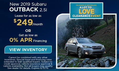 2019 Subaru Outback - August