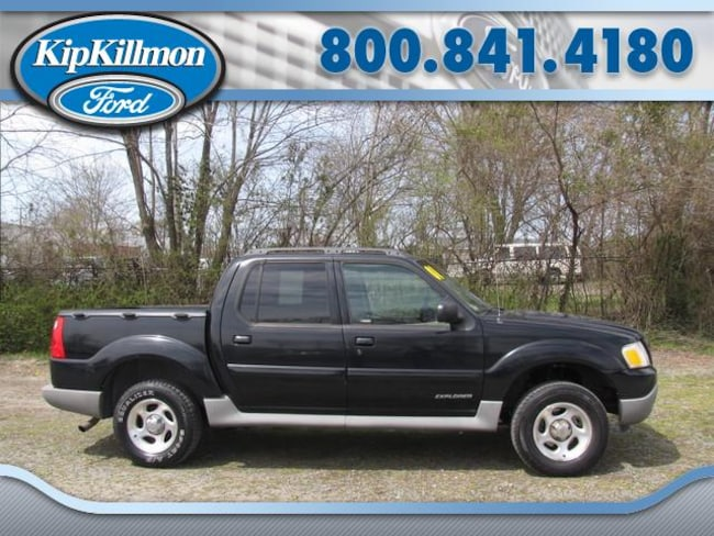 2001 ford explorer limited sport trac