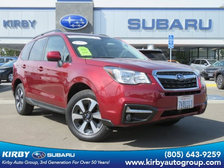 Certified Pre-Owned 2017 Subaru Forester 2.5i Premium All-Weather Package + EyeSight + BSD/RCTA SUV Ventura, CA