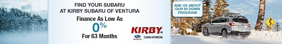Find Your Subaru