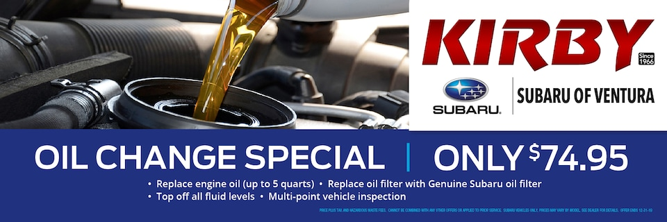 Oil Change - Only $75.95