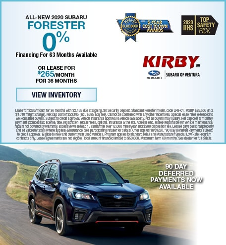 All-New 2020 Subaru Forester