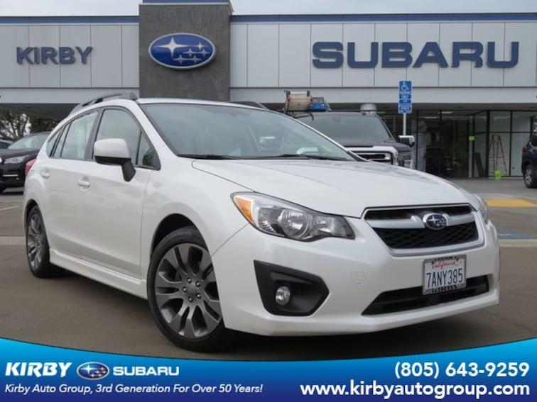 Used 2013 Subaru Impreza 2.0i Sport Premium Hatchback in Ventura
