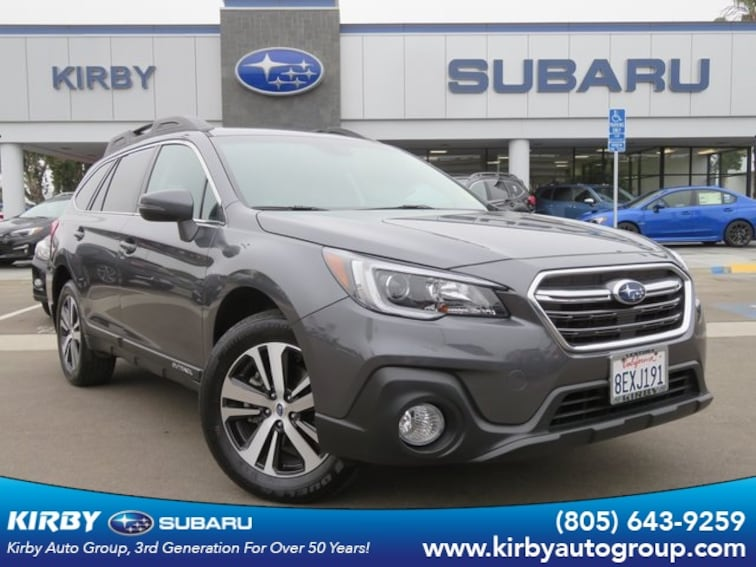Certified Pre-Owned 2019 Subaru Outback 2.5i Limited with Power rear Liftgate & BSD SUV Ventura, CA