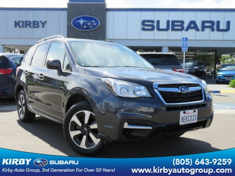Certified Pre-Owned 2017 Subaru Forester 2.5i Premium All-Weather Package SUV Ventura, CA