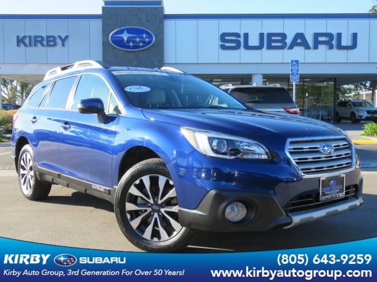 Used 2017 Subaru Outback 2.5i Limited EyeSight + Navigation System + High B SUV in Ventura