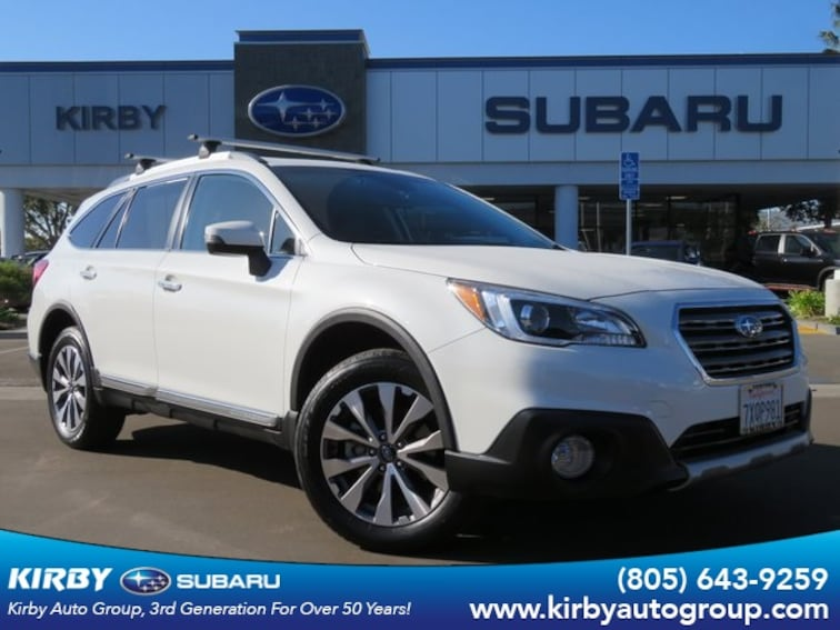 Used 2017 Subaru Outback 2.5i Touring with Eyesight + Nav + Starlink SUV in Ventura