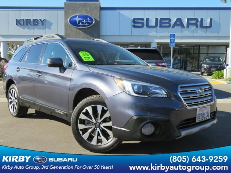 Used 2017 Subaru Outback 2.5i Limited with Power rear Liftgate & BSD SUV in Ventura