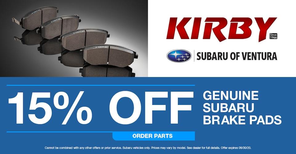 Subaru Brake Pads
