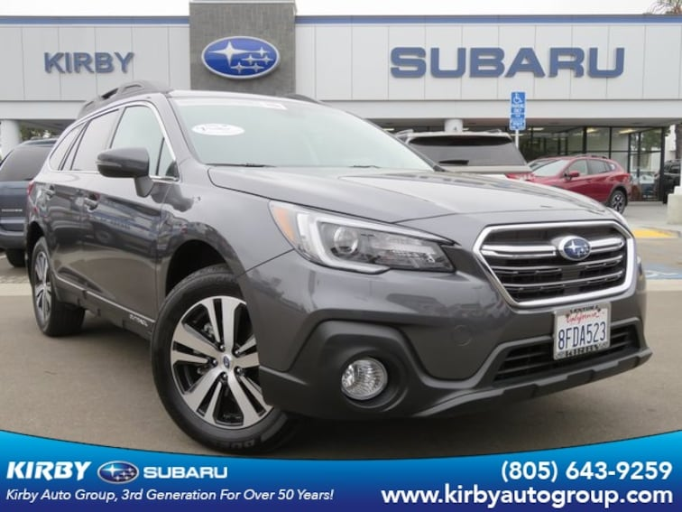 Used 2019 Subaru Outback 2.5i Limited Moonroof + Navigation System + High Beam Assist + Reverse Auto Braking + LED Steering Reponsive Headlights SUV in Ventura