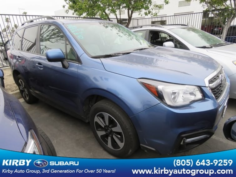 Certified Pre-Owned 2018 Subaru Forester 2.5i Premium All-Weather Package + EyeSight + BSD/RCTA SUV Ventura, CA