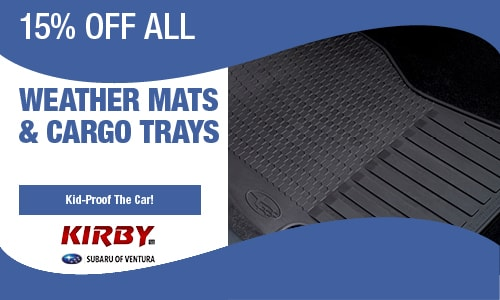 15% OFF Weather Mats & Cargo Trays