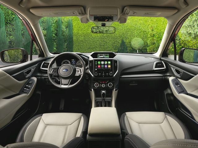 New Subaru Forester Interior