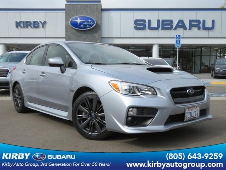 Certified Pre-Owned 2017 Subaru WRX Base Sedan Ventura, CA