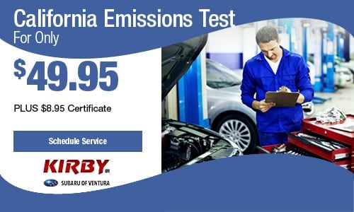 California Emissions Test for Only $49.95