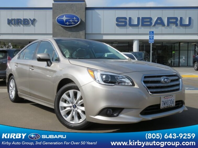 Certified Pre-Owned 2017 Subaru Legacy 2.5i Premium EyeSight + Blind Spot Detection & Rea Sedan Ventura, CA