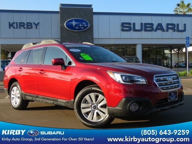 2017 Subaru Outback 2.5i Premium All-Weather Package SUV