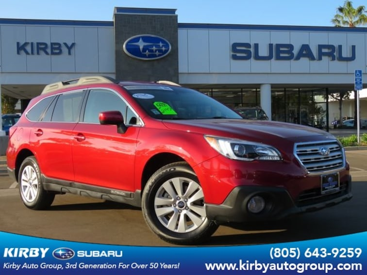 Used 2017 Subaru Outback 2.5i Premium All-Weather Package SUV in Ventura