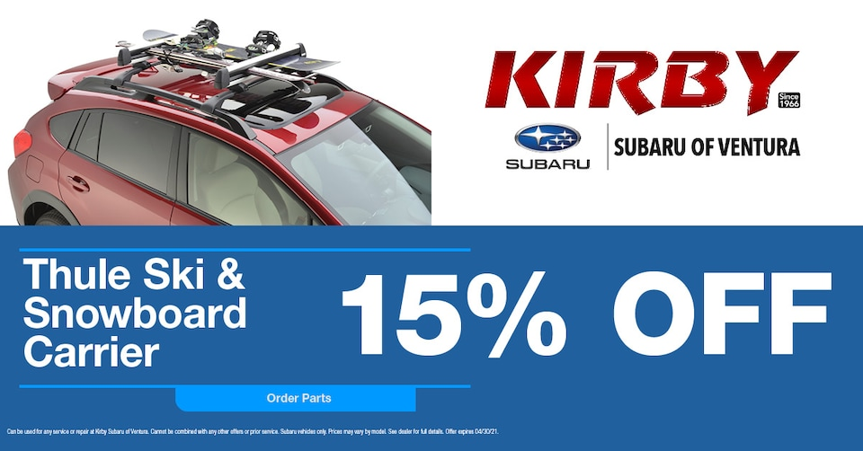 Thule Ski & Snowboard Carrier  15% OFF