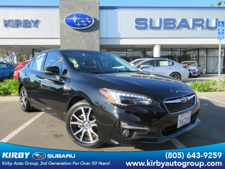 Certified Pre-Owned 2017 Subaru Impreza 2.0i Limited EyeSight + Moonroof + Blind Spot Detection & Rear Cross Traffic Alert Sedan Ventura, CA