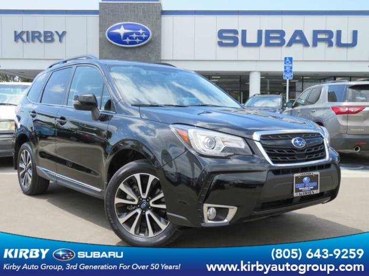 Certified Pre-Owned 2017 Subaru Forester 2.0XT Touring Eyesight + Navigation System + Saddle Brown Interior SUV Ventura, CA