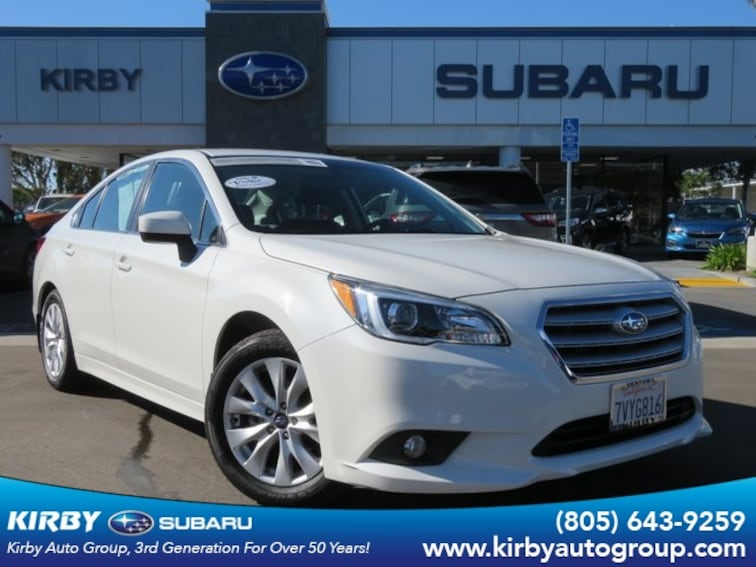 Certified Pre-Owned 2017 Subaru Legacy 2.5i Premium All-Weather Package Sedan Ventura, CA