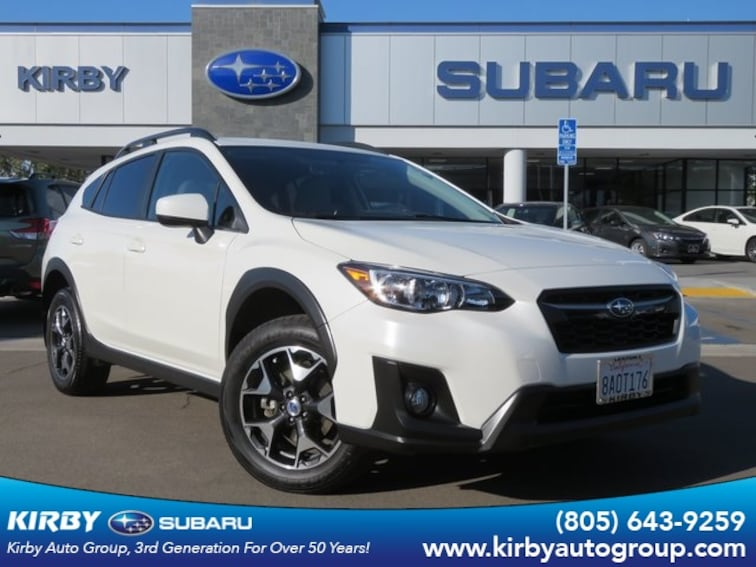 Certified Pre-Owned 2018 Subaru Crosstrek 2.0i Premium SUV Ventura, CA