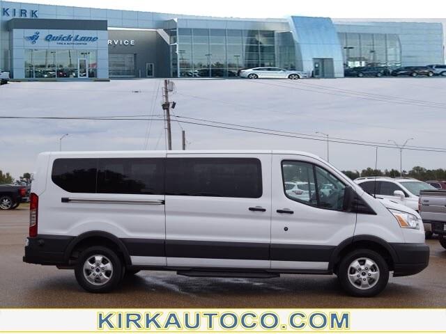 2017 Ford Transit Wagon T-350 148  LOW Roof XLT S 350 XLT  LWB Low Roof Passenger Van w/Sliding Pass