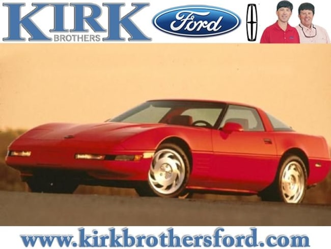 1992 Chevrolet Corvette Hatchback