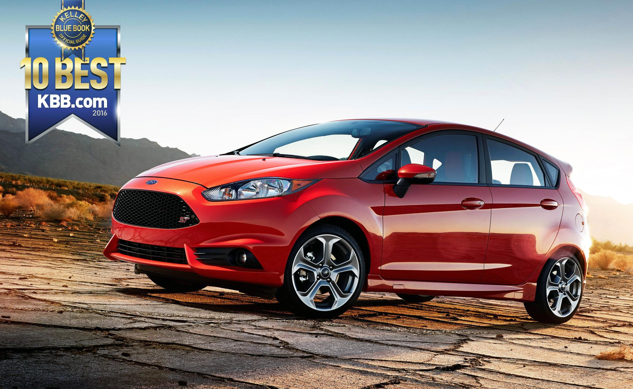 Kisselback Ford Cool Factor KBB Names Ford Fiesta One Of Top - Ford cool cars