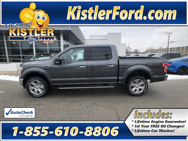 2019 Ford F-150 XLT Truck SuperCrew Cab 4WD