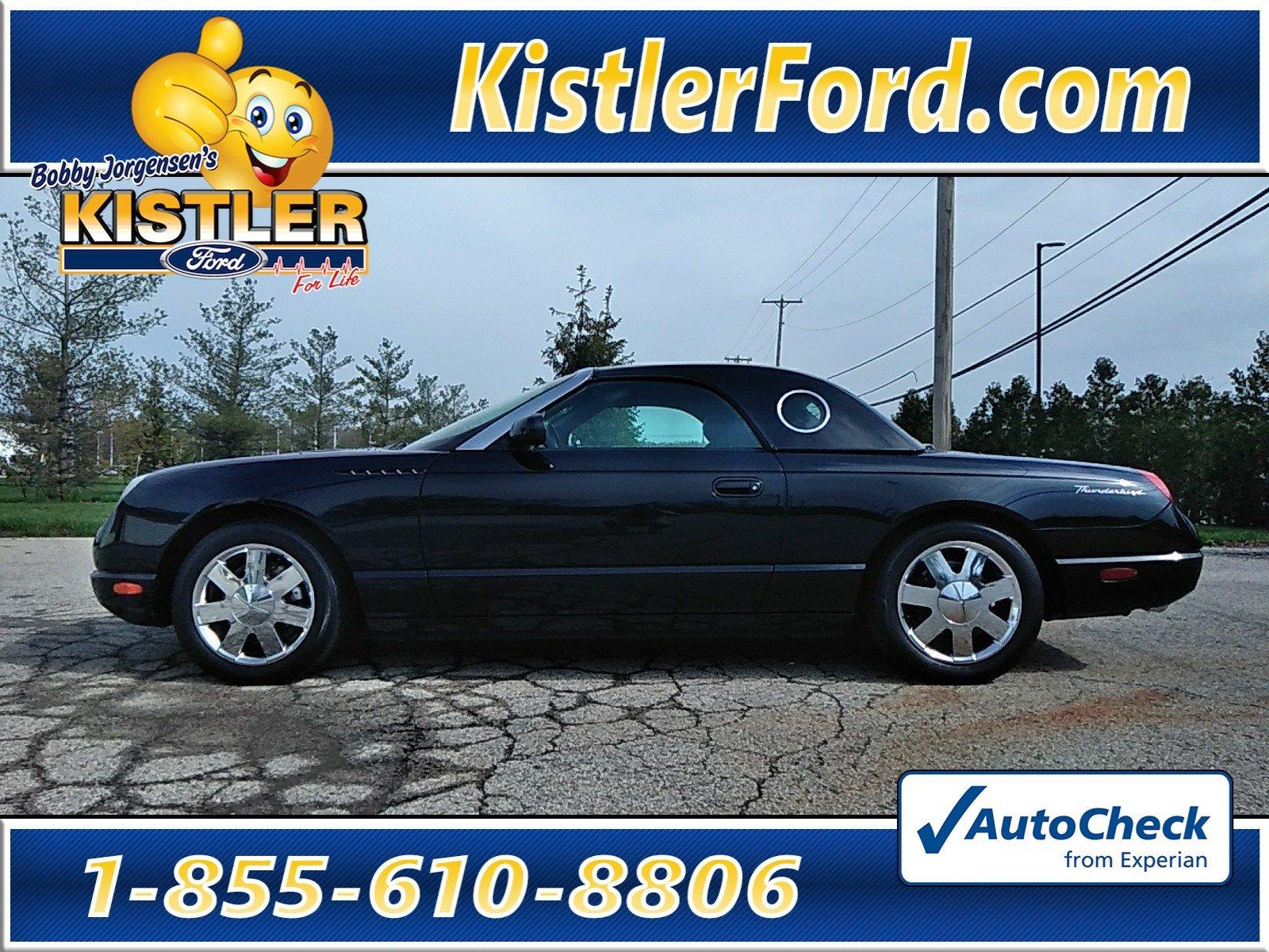 2002 Ford Thunderbird w/Hardtop Premium Convertible RWD