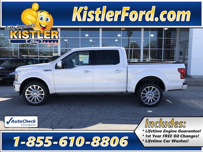 2019 Ford F-150 Limited Truck SuperCrew Cab 4WD
