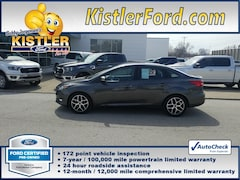 2017 Ford Focus SEL Sedan FWD