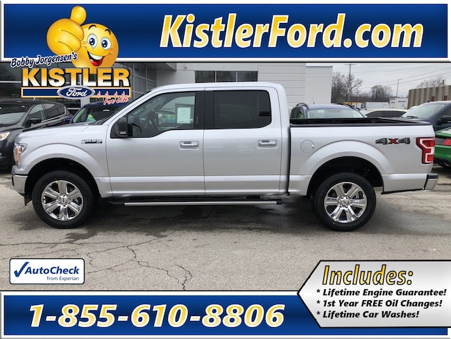 2019 Ford F-150 Supercrew XLT Truck SuperCrew Cab 4WD