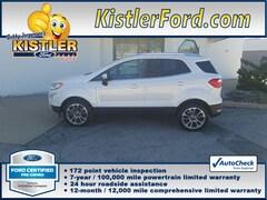 2018 Ford EcoSport Titanium SUV 4WD