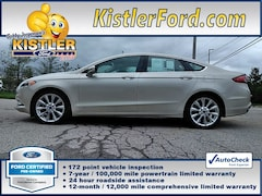 2017 Ford Fusion Platinum Sedan FWD