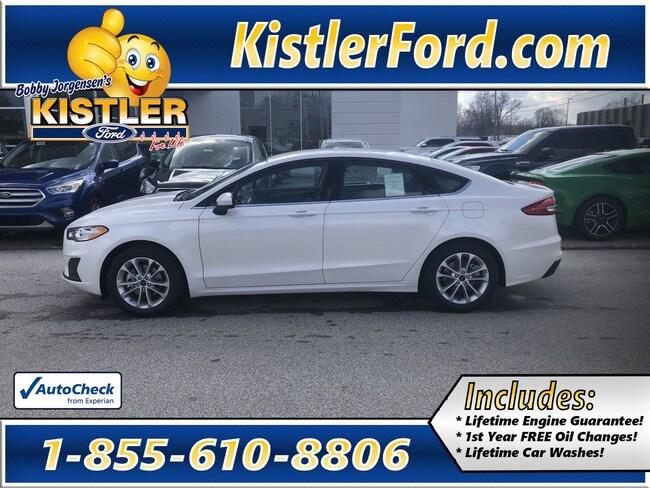 2019 Ford Fusion SE Sedan FWD
